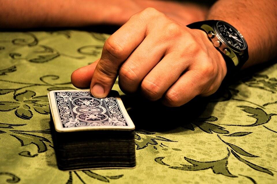 mazo de cartas para jugar al blackjack en vivo