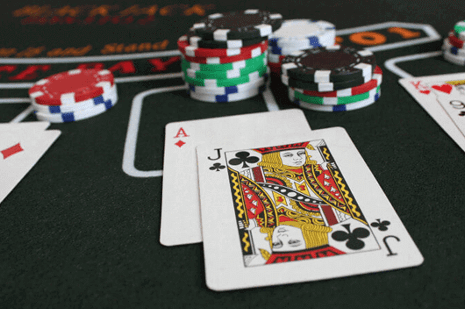 Cartas para jugar al blackjack en casinos