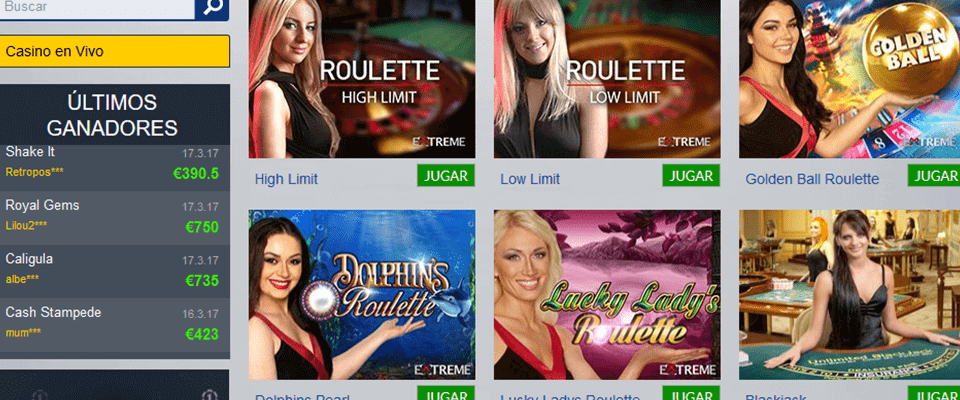 Casino1 casino en vivo