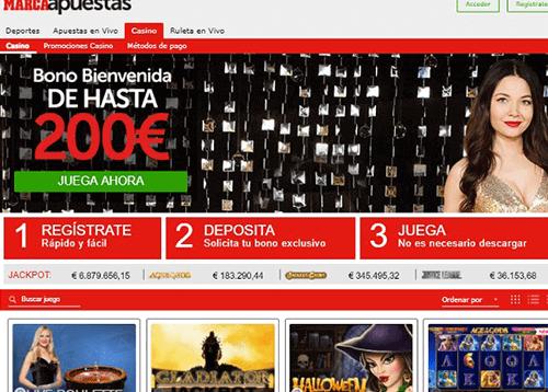 marca napuestas homepage