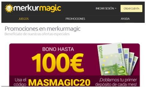 Casino Merkurmagic bono de hasta 100 euros